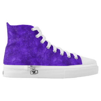 Ultra violet high top sneakers