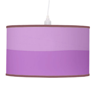 Ultra Violet Ombre Lamp Shade