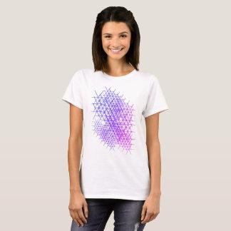 Ultra Violet Petals Cluster T-Shirt