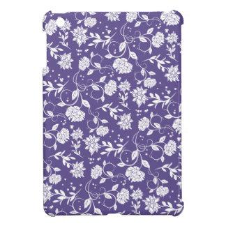 Ultra Violet Poetry Garden Flower iPad Mini Cover