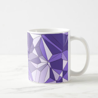 Ultra Violet Prism Pattern Print Mug