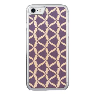 Ultra Violet Purple Bell Flower Meadow Bellflower Carved iPhone 8/7 Case