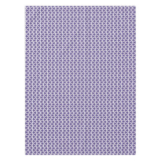 Ultra Violet Purple Bell Flower Meadow Bellflower Tablecloth