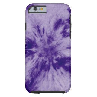 Ultra Violet Tie Die iPhone case