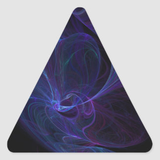 Ultra violet triangle sticker