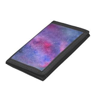 Ultra violet TriFold Nylon Wallet