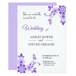 Ultra Violet Wedding Invitations
