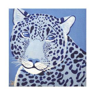 Ultramarine Jaguar Canvas Print