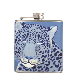 Ultramarine Jaguar Flask