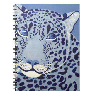 Ultramarine Jaguar Notebook