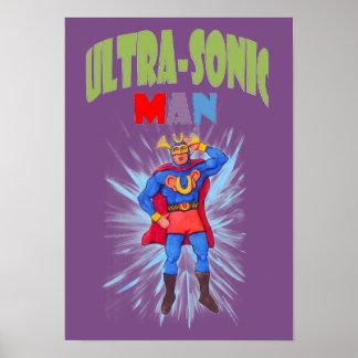 Ultrasonic Man Poster