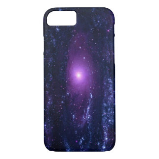 Ultraviolet Andromeda Galaxy Messier 31NGC 224 iPhone 7 Case