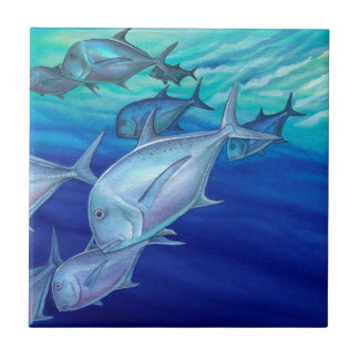 Ulua (Giant Trevally) Tile