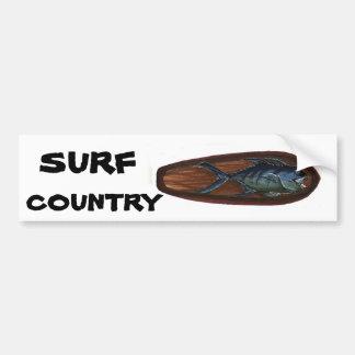 Ulua SURF COUNTRY Bumper Sticker