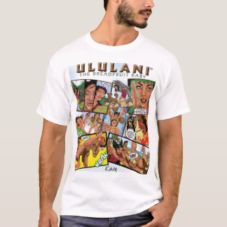 ULULANI COMIC T SHIRT COMIC FRONT