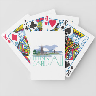Ulun Danu Bali Bicycle Playing Cards
