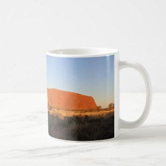 Uluru at sunset in July Coffee Mug