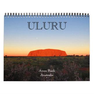 uluru australia 2018 wall calendar