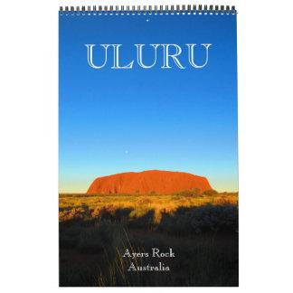 uluru australia calendars