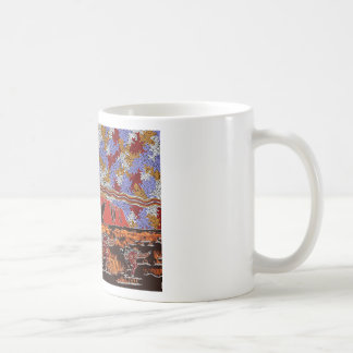 Uluru - Authentic Aboriginal Art Coffee Mug