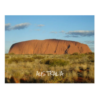 Uluru (Ayers Rock) Australia Postcard