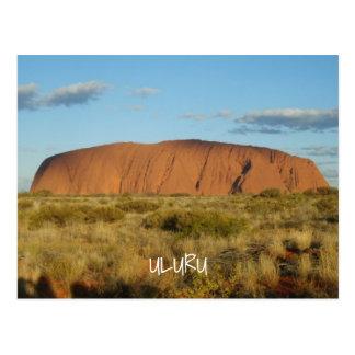 Uluru Ayers Rock Australia Postcard
