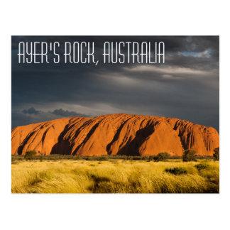 Uluru (Ayer's Rock), Australia Postcard