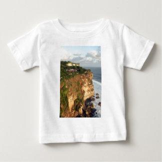 Uluwatu cliffs and Hindu temple, Bali Baby T-Shirt
