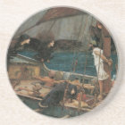 Ulysses and the Sirens by JW Waterhouse Coaster