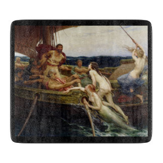 Ulysses and the Sirens Small Cutting Board