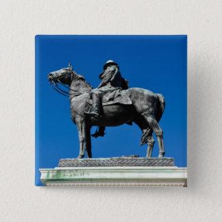 Ulysses S Grant 2 Inch Square Button