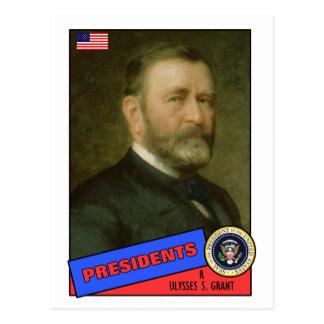 Ulysses S. Grant Baseball Card