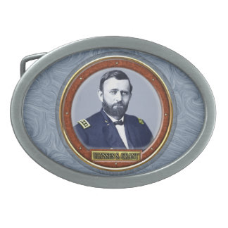 Ulysses S. Grant Oval Belt Buckles