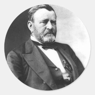 Ulysses S. Grant Round Sticker