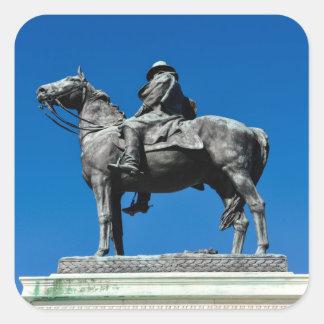Ulysses S Grant Square Sticker
