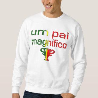Um Pai Magnifico Portugal Flag Colors Sweatshirt