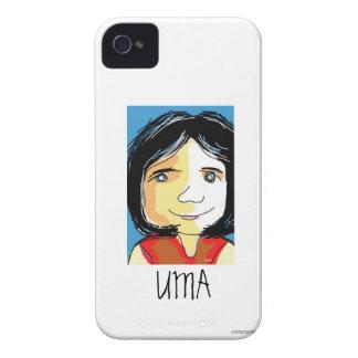 Uma Sketch iPhone 4 Case-Mate Case