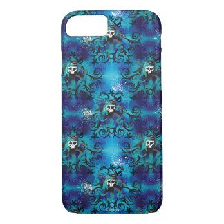 Uma Skull Pattern iPhone 7 Case