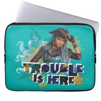 Uma | Trouble is Here Laptop Sleeve