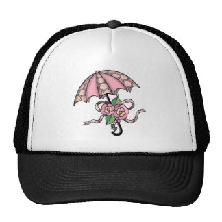 Umberlla with Roses 09 Trucker Hat