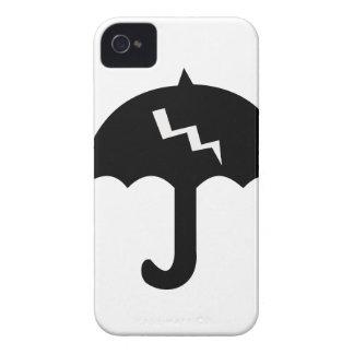 umbrella and  lighting Case-Mate iPhone 4 case