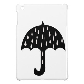 Umbrella and raining case for the iPad mini