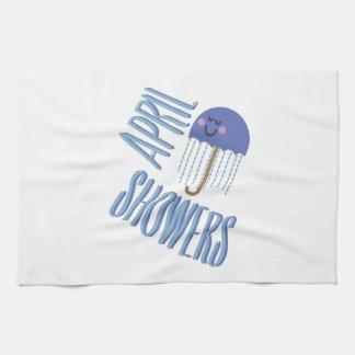 Umbrella April Showers Kitchen Towels