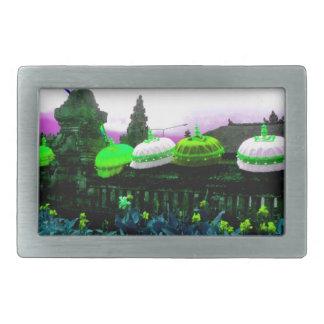 Umbrella Bali Colour Splash Lime Belt Buckle