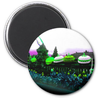 Umbrella Bali Colour Splash Lime Magnet