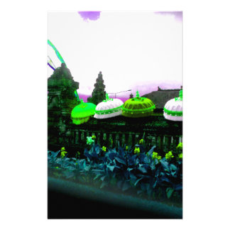 Umbrella Bali Colour Splash Lime Stationery