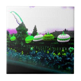 Umbrella Bali Colour Splash Lime Tile