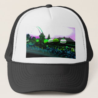 Umbrella Bali Colour Splash Lime Trucker Hat