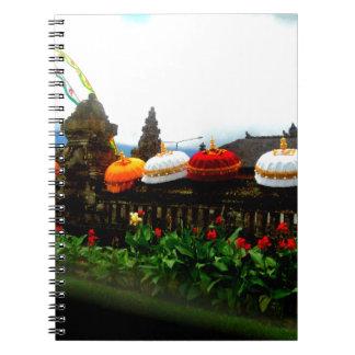 Umbrella Bali Splash Orginal Notebooks