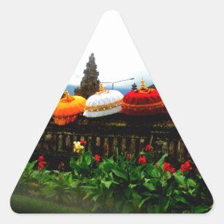 Umbrella Bali Splash Orginal Triangle Sticker